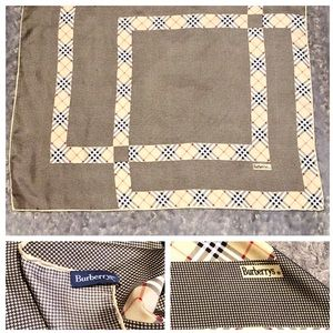 Burberry silk Scarf paid $320 good condition!